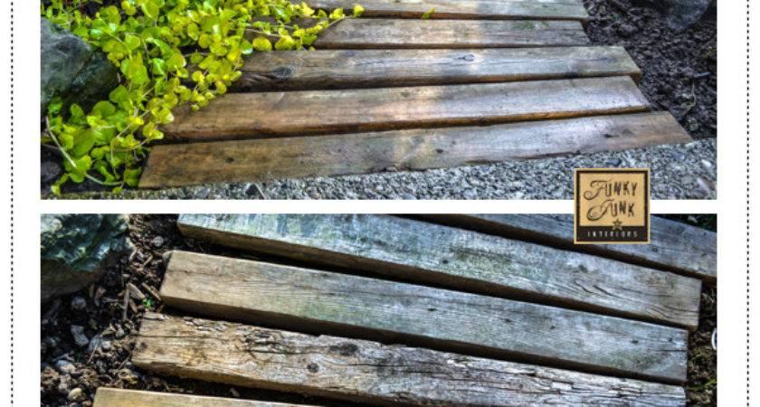 Creative Diy Garden Paths Nifty Diys