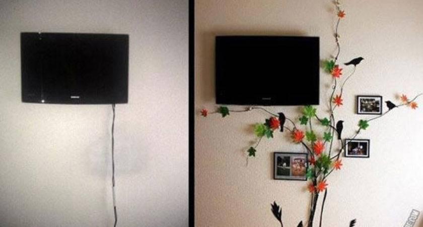 Creative Diy Ideas Hide Wires Wall Room
