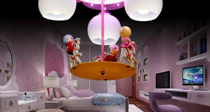 Creative Dream Carousel Led Cartoon Light Bedroom