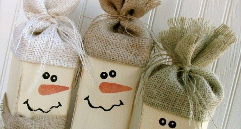 Creative Fun Diy Snowman Decorations