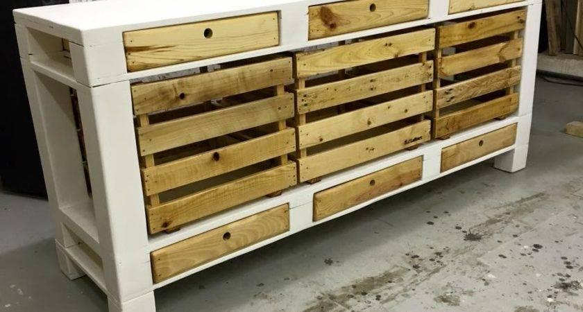 Creative Functional Diy Pallet Furniture Plans