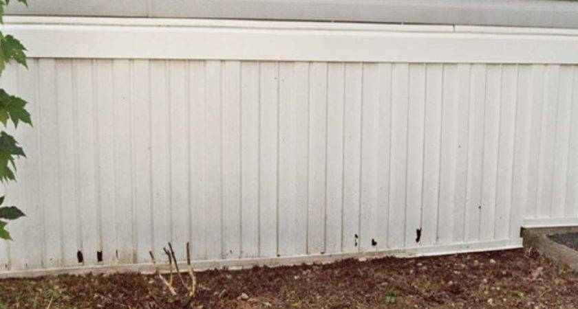 Creative Ideas Mobile Home Skirting Wooden