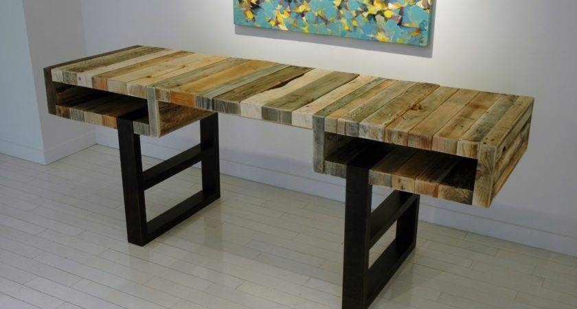 Creative Pallet Desk Designs Rustic Crafts Chic Decor
