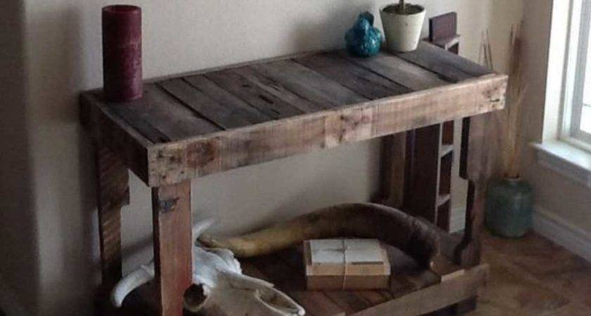 Creative Things Make Wooden Pallets Home