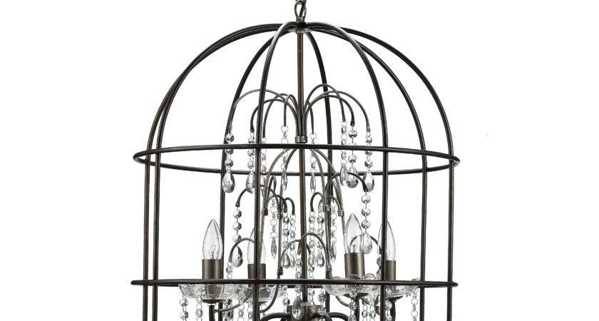 Creative Turn Century Metal Birdcage Light