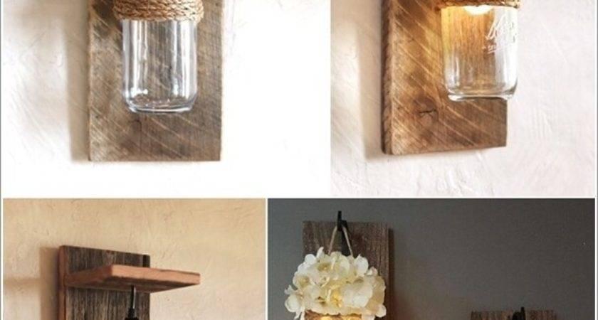 Creative Unique Diy Wall Lamp Designs