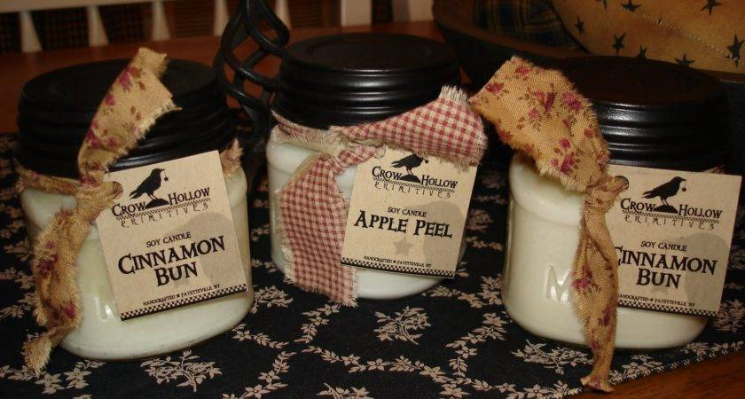 Crow Hollow Primitives Candles Beeswax