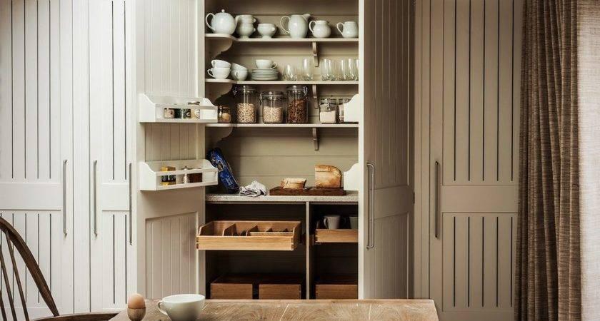 Cupboard Door Kitchen Farmhouse Pantry Close