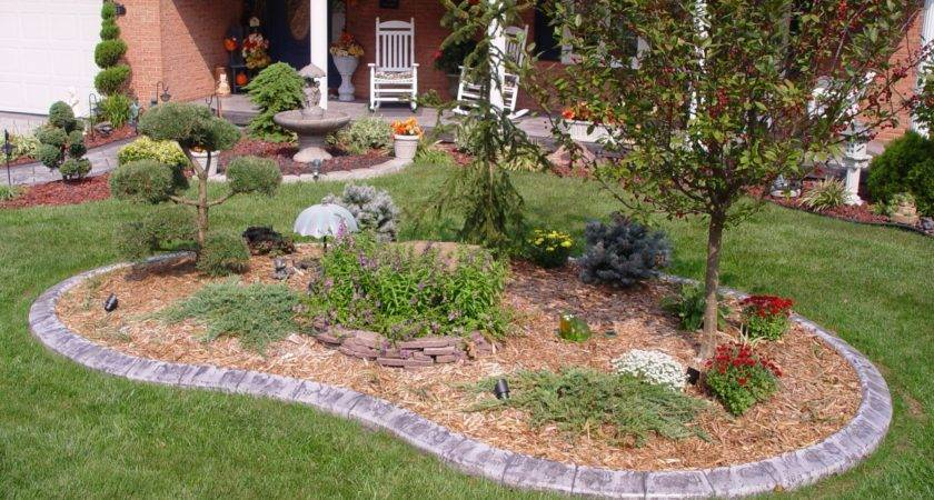 Curb Appeal Landscaping Ideas Bistrodre Porch