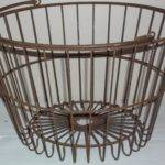 Curbside Collector Wire Basket Light Fixture Garage