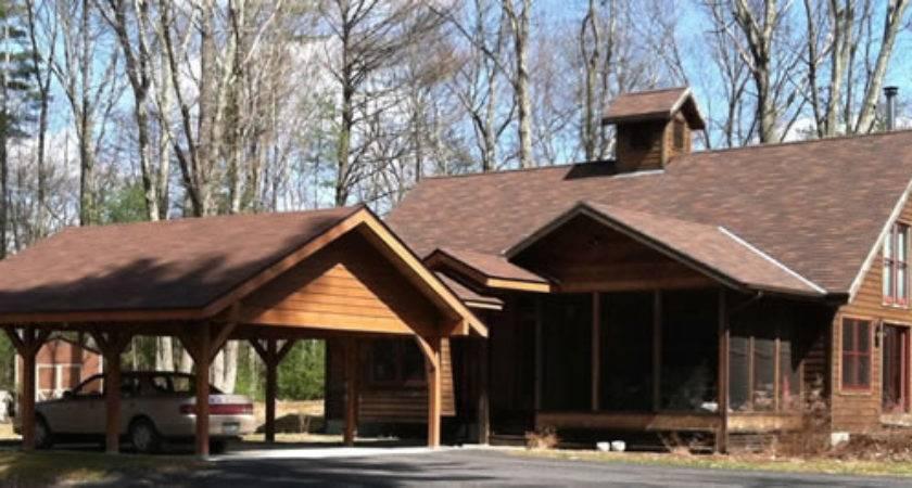 Curry Rinzler Architect New Work Addition Carport