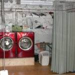 Curtain Ideas Hide Washer Dryer