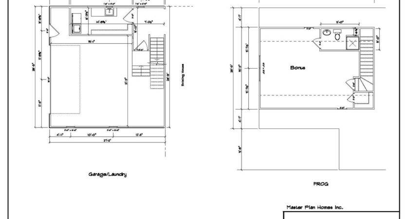Custom Attached Garage Addition Plans