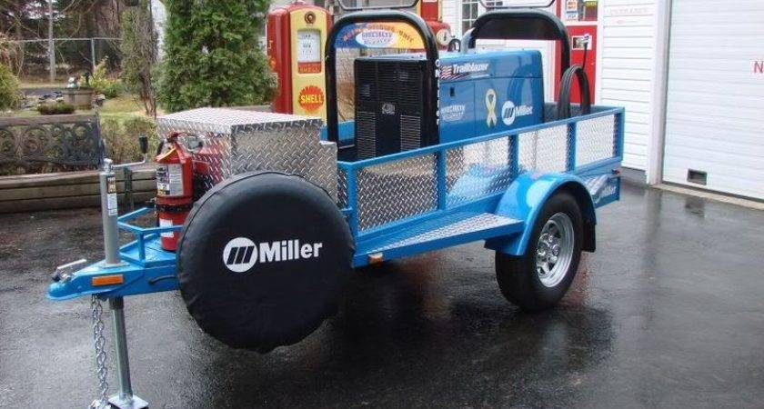 Custom Built Trailer Miller Trailblazer
