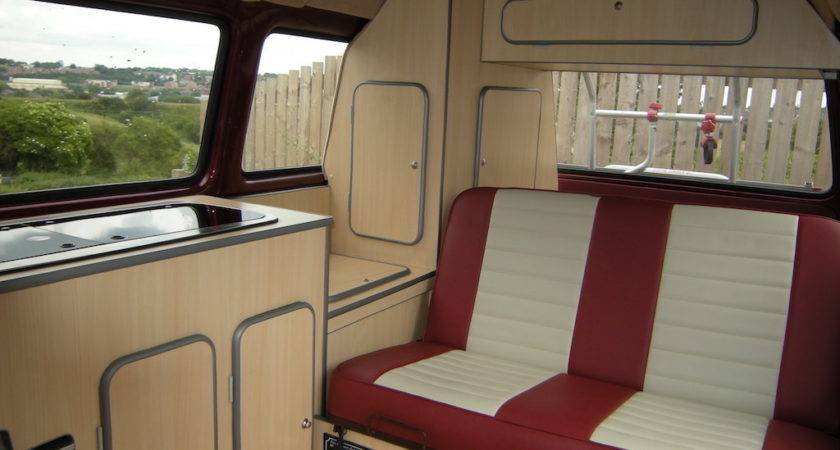 Custom Bus Interior Camper Interiors