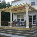 Custom Deck Wrap Around Steps Traditional