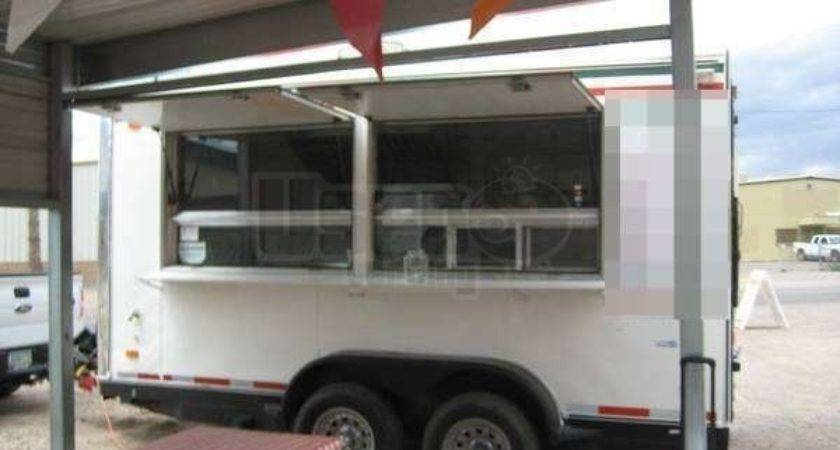 Custom Food Concession Catering Trailer Small Mobile