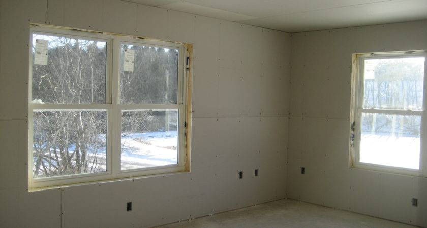 Custom Home Construction Drywall Finishing