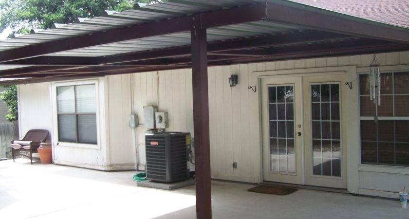 Custom Home Porch Cover Northwest San Antonio Carport