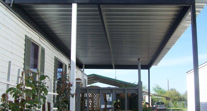 Custom Patio Cover Mobile Home Windcrest Texas