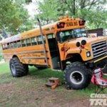 Custom School Bus Bing