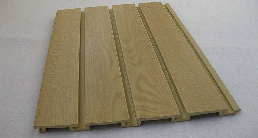 Customized Strong Garage Wall Panels Wood Plastic