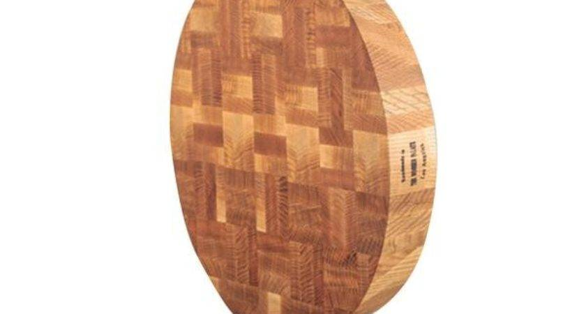 Cut Chop Round Oak Wooden Palate Monc Xiii
