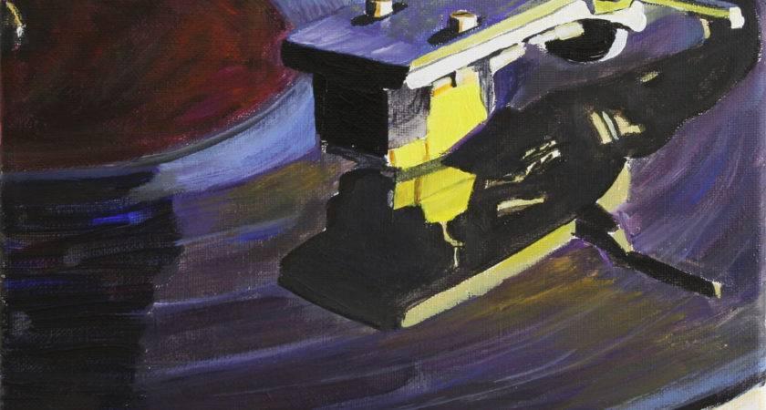 Daily Painting Vintage Vinyl Andre Beaulieu Studio
