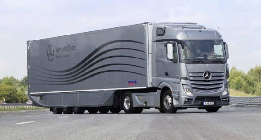 Daimler Unveils Aerodynamics Truck Trailer Europe