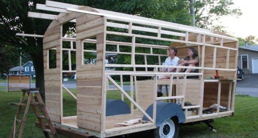 Daphne Caravans Magical Retreats Build