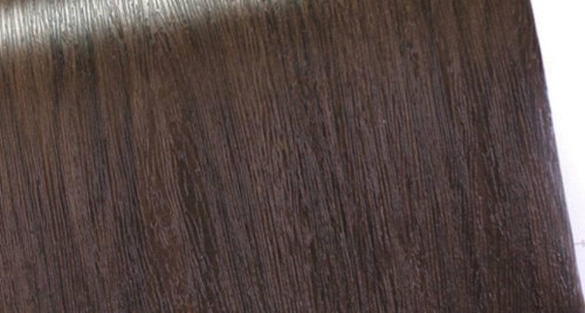 Dark Brown Wood Grain Pattern Self Adhesive