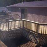 Dark Decks Mobile Homes Furnished Ideas