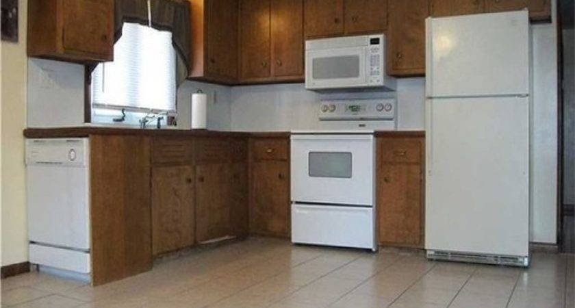 Dark Wood Floors White Cabinets Painting Mobile Home