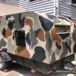Day Homemade Camouflage Camper
