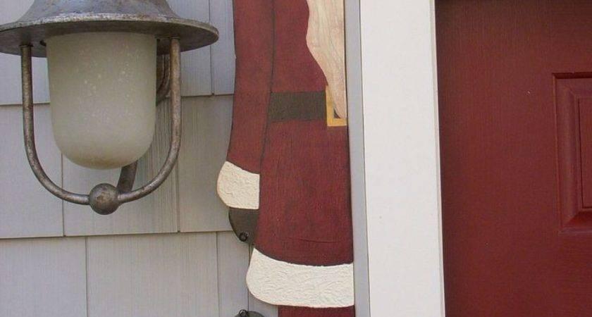 Debi Doings Pattern Santa Door Hugger Doors