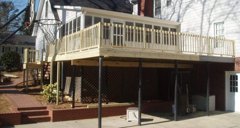 Deck Building Second Story