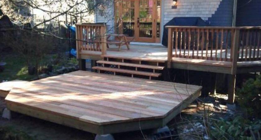 Deck Cedar Creek Decks Greater Vancouver