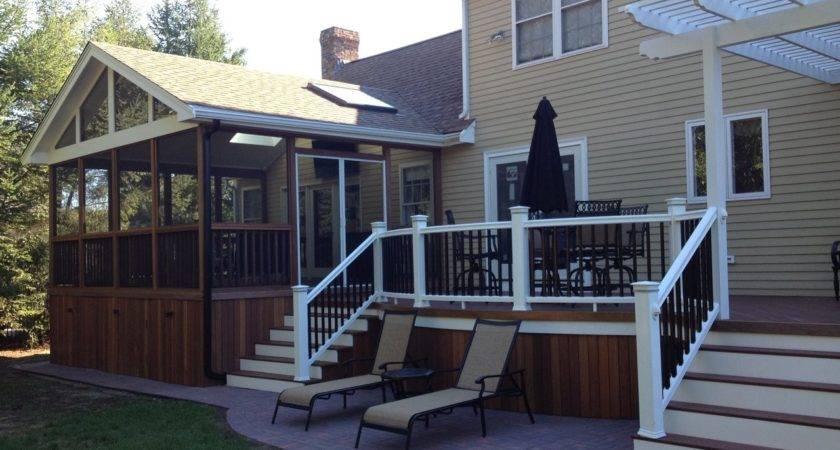 Deck Design Ideas Screened Porch Archadeck