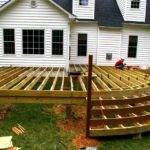 Deck Design Ideas Simple Wood Designs Backyard