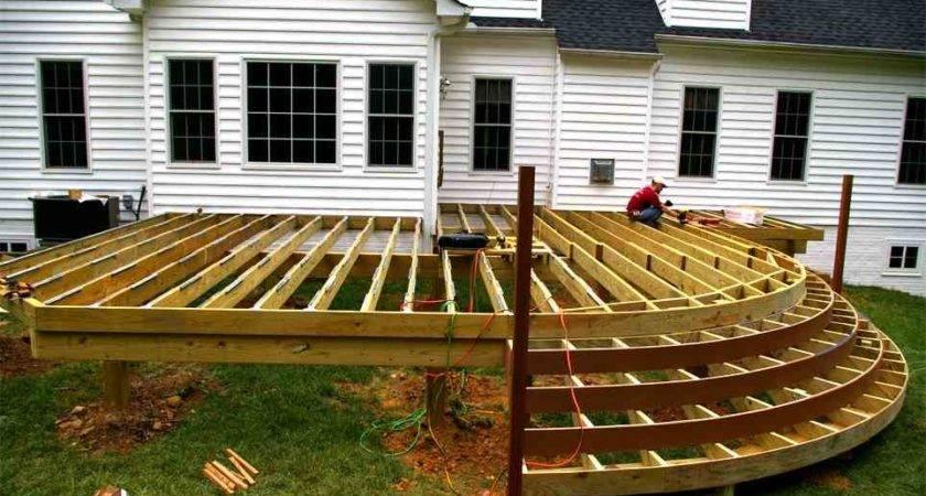 Deck Design Ideas Simple Wood Designs Backyard