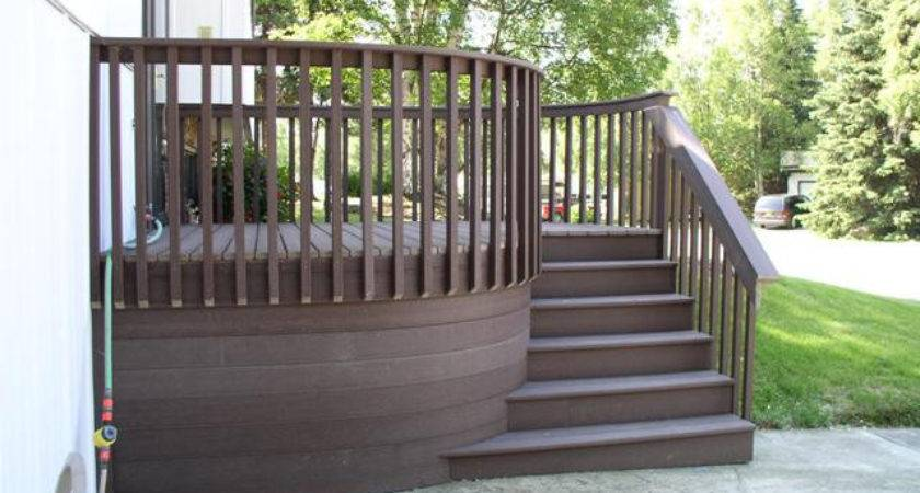 Deck Design Ideas Trex Cedar Hardwood Alaskan