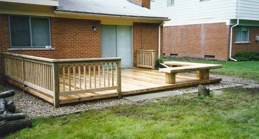 Deck Designs Decks Mobile Homes Double Wide Building
