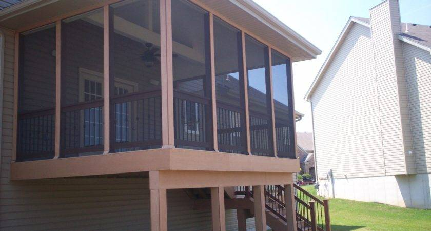 Deck Designs Screened Porch Louis Decks