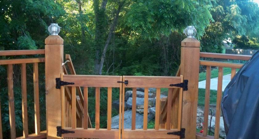Deck Gate Kits Build Get Pre Cut Parts