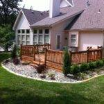 Deck Landscaping Ideas Backyard Landscape Design