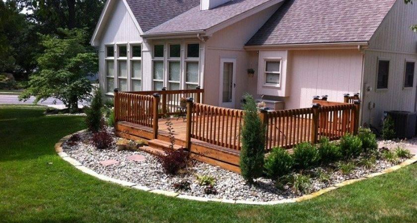 Deck Landscaping Ideas Backyard Landscape Design