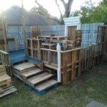 Deck Made Out Pallets Pallet Decks Terraces