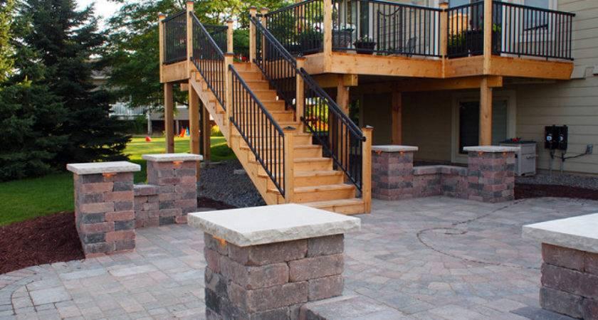 Deck Patio Backyard Ideas Flickr Sharing