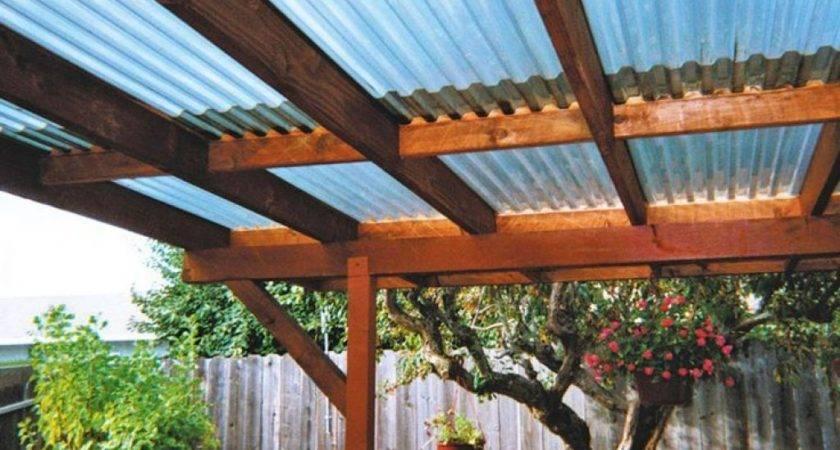Deck Pergola Fibreglass Roofing Roof