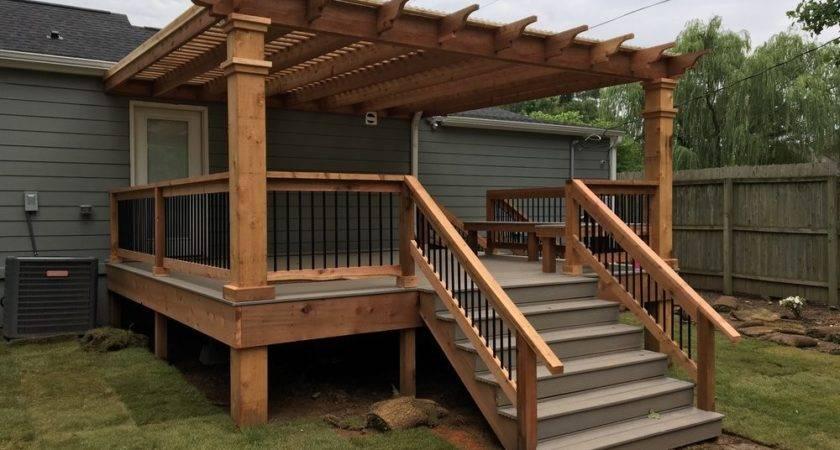 Deck Pergola Outdoor Goods
